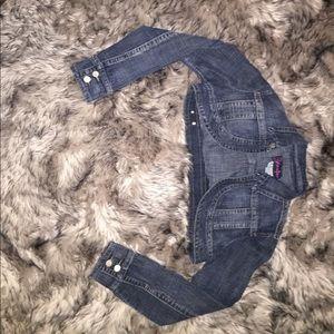 Jackets & Blazers - Crop jean Jacket